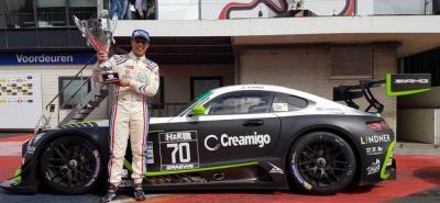 El piloto colombiano Óscar Tunjo, a bordo de su Mercedes-AMG, dominó a su antojo el circuito de Zandvoort, en Holanda, pues ganó las dos competencias del Campeonato Special Touring Car Trophy de la categoría GT3 y lidera el certamen con amplio margen.