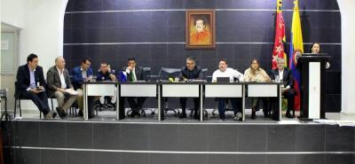 La Asamblea departamental de Santander aprobó en tercer debate el proyecto de Ordenanza que autrizaba a la Gobernación para adquirir un crédito por $120 mil millones.
