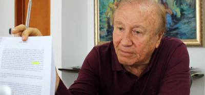 El alcalde Rodolfo Hernández salió fortalecido en el enfrentamiento que sostuvo con el senador Horacio Serpa, al menos así lo reflejan los sondeos de opinión.