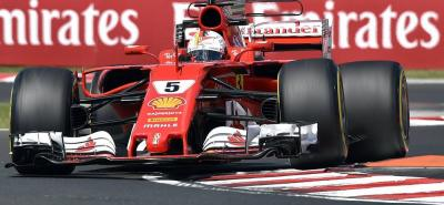 Vettel fue el más rápido en Hungría