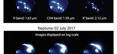Descubren enorme tormenta en Neptuno