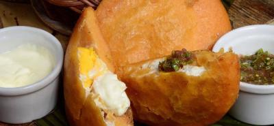 Siga paso a paso la elaboración de la apetitosa arepa de huevo en http://cocinarte.co/recetas/arepa-de-huevo/