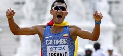 Colombiano Éider Arevalo, ganó medalla de oro en Mundial de Atletismo