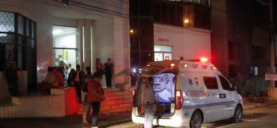 Miguel Santos Ramón se recupera en la Clínica Saludcoop de Cañaveral.