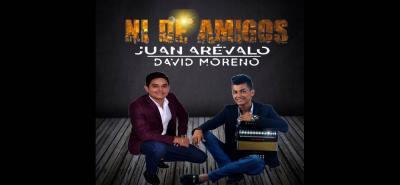 Recientemente se llevó a cabo el lanzamiento del tema vallenato 'Ni de amigos', de Juan Arévalo y su acordeonero David Moreno.