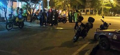 Un Policía resultó herido al frustrar un atraco en Bucaramanga