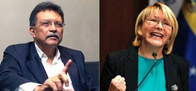Diosdado Cabello hizo la solicitud de la detención. En la imagen, el diputado Germán Ferrer y su esposa la exfiscal Luisa Ortega.