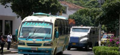 Ciudadanos recordaron la ruta de bus Igsabelar.