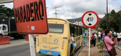 Encuentre en este mapa los peores sitios para encontrar transporte en Bucaramanga y el área