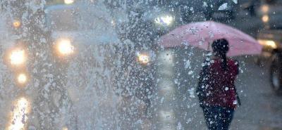 Tormenta tropical afectará el clima de todo el país durante el fin de semana
