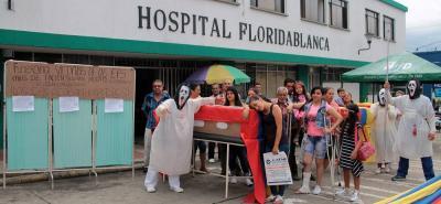 Desde el Hospital de Floridablanca promoverán referendo contra la ley 100 de salud