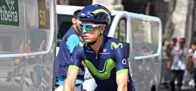 El ciclista antioqueño ocupaba la casilla 16 de la clasificación general.