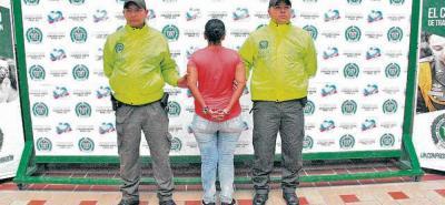 Alias 'Copo de Nieve' y 'María La Gil', quienes tienen antecedentes judiciales, fueron capturados en las últimas horas.