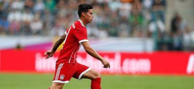 Bayern advirtió que James viaja pero no debe jugar contra Venezuela