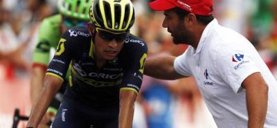 Chaves se afianza en el segundo lugar de la Vuelta a España