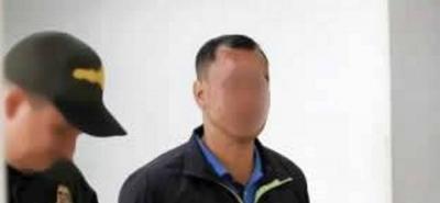 El capturado en el 2015 salió de prisión tras purgar una condena por el delito de hurto.