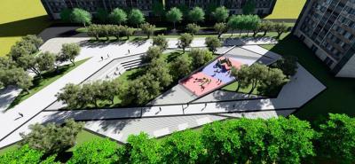 """Así lucirá el """"Parque de los Sueños"""", el cual será construido en la comuna 7 de ciudad. El proyecto tiene un costo de $2.195 millones."""