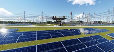 La producción de energía se conectará con el Sistema Nacional para su distribución y comercialización.