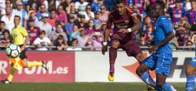 El brasileño José Paulo Bezerra 'Paulinho' marcó el gol de la victoria del Barcelona sobre Getafe.