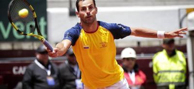 El tenista croata Marin Cilic, número cinco del ranking ATP, derrotó 6-3, 6-4 y 6-4 al colombiano Santiago Giraldo y le dio la clasificación a su país al Grupo Mundial de la Copa Davis.
