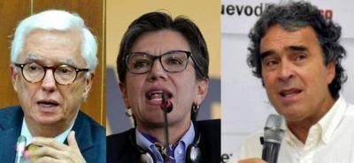 Oficializan alianza presidencial entre Robledo, López y Fajardo