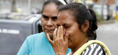 Ayer, en Medicina Legal, seccional Bucaramanga, los familiares del occiso recibieron los restos mortales.