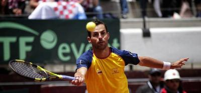 Santiago Giraldo anunció que se retira temporalmente del tenis