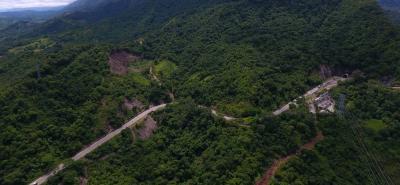 Salida túnel Río Sogamoso