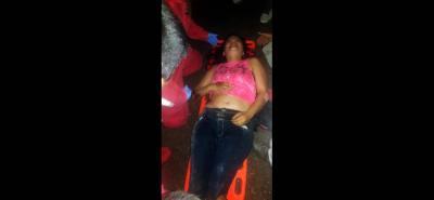 Dos accidentes con cinco heridos graves han ocurrido en el barrio Colombia en las últimas 50 horas.