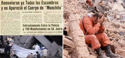 "Tal como ""Frida Sofía"", durante sismo de 1985 también hubo un niño fantasma: ""Monchito"""