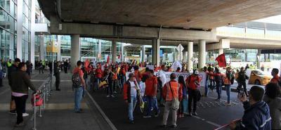 Pilotos en huelga rechazan Tribunal de Arbitramento convocado por el Gobierno