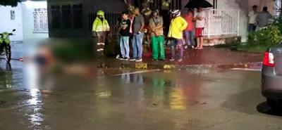 Motociclista murió en accidente de tránsito en Santander