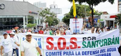 La mitad los diputados se mostraron en desacuerdo con la marcha que se realizará mañana viernes en contra de la minería en los alrededores del páramo de Santurbán.