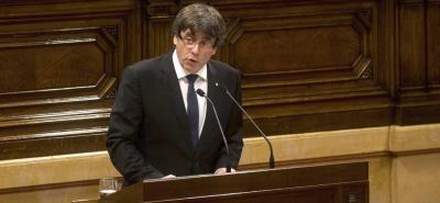 El presidente catalán quiere dialogar con el Ejecutivo español para llegar a una solución acordada.
