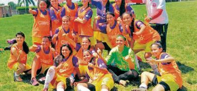 El club Botín de Oro, que representa a Santander en la Copa Claro de fútbol femenino, clasificó por tercera vez consecutiva a la gran final del certamen.