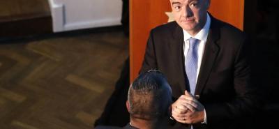 Gianni Infantino, presidente de la Fifa, cree que sería bueno incluir el VAR en el Mundial de Rusia 2018.