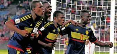 La selección Colombia, que debutó en el Mundial Sub 17 con una derrota 1-0 ante Ghana, se recuperó en las siguientes presentaciones con dos victorias, la primera sobre la India (2-1) y la segunda contra Estados Unidos (3-1).