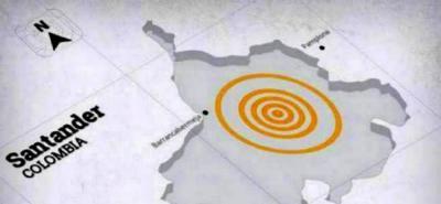 Temblor sacudió a Santander en la madrugada de este viernes