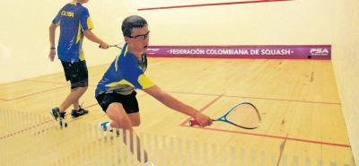 Ayer se dio inicio a la IX Válida Nacional de Squash en las canchas de los clubes Campestre y Unión de Bucaramanga.