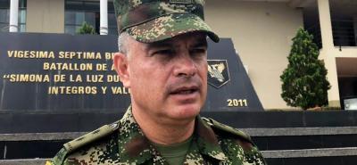 El general Adolfo León afirmó que estos grupos no tienen como objetivo atentar contra la Fuerza Pública, ni contra las infraestructuras petroleras, energéticas ni viales del departamento.