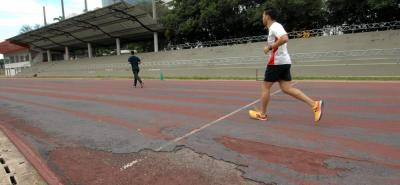 Realizarán estudio para arreglar el estadio de atletismo La Flora, en Bucaramanga.