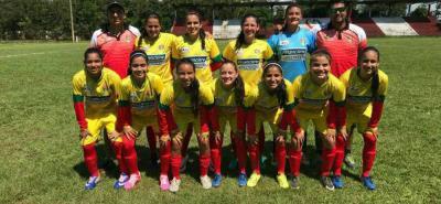 Primera victoria de la selección Santander femenina de fútbol