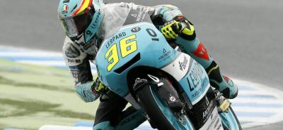 El español Joan Mir, a falta de dos válidas, se coronó campeón de Moto3.