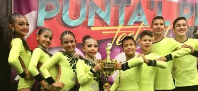 Niños santandereanos ganaron Torneo Nacional de salsa.