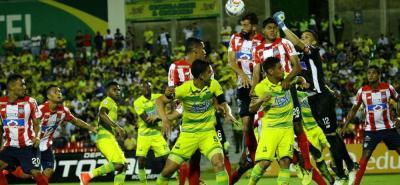 Atlético Bucaramanga perdió 3-1 ante el Junior de Barranquilla