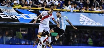 Paolo Guerrero habría se habría dopado en el partido ante Argentina