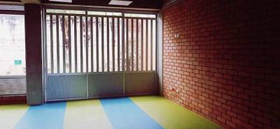 Este es una aulas de preescolar que ya está casi que habilitada para recibir a los más pequeños de la institución.