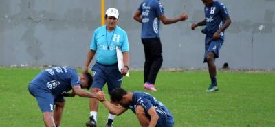 El santandereano Jorge Luis Pinto Afanador, seleccionador de Honduras, confía en darle una alegría a los 'catrachos'.