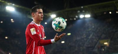 James Rodríguez tuvo una sobresaliente actuación en el triunfo 3-1 del Bayern Múnich sobre Borussia Dortmund, en la fecha 11 de la Liga alemana.