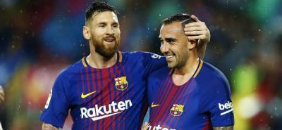 Barcelona, en el partido 600 de Lionel Messi, se impuso 2-1 sobre el Sevilla y se afianzó en lo más alto de la Liga española.